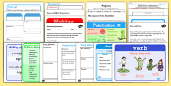 Teaching Assistant KS2 Writing Intervention Pack - TA, writing
