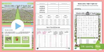 Year 6 Term 2B Week 3 Spelling Pack - Spelling Lists, Word Lists, Spring Term, List Pack, SPaG, spelling homework