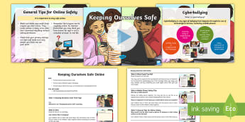 KS2 Keeping Ourselves Safe Assembly Pack - anti-bullying week, bullying, mobile phone safety, Cyberbullying, online safety.