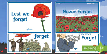 Anzac Day Display Posters - Australian Requests, anzac day posters, anzac posters, display posters, anzac day, anzac, poppies, l