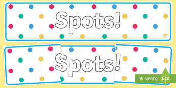 Spots! Display Banner