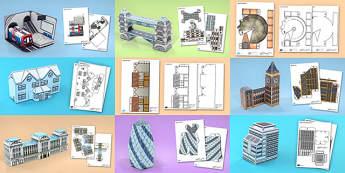 History of London Model Pack - geography, UK, history, London, model