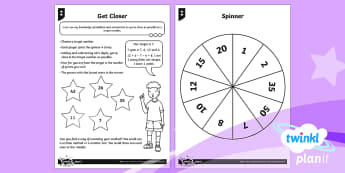 PlanIt Maths Y2 Addition and Subtraction Solve Problems Home Learning Tasks - trial and improvement, written method,jottings, bar-model, number line, add three single digit numbe
