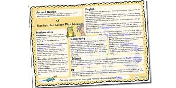 Handas Hen Lesson Plan Ideas KS1 - lesson ideas, planning lessons