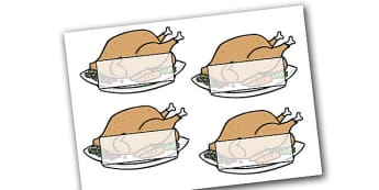 Editable Self Registration Christmas Turkeys - christmas, xmas, self registration, self-registration, editable, editable labels, christmas turkeys, turkey, self registration labels on turkeys, editable self registration labels, labels, registration,