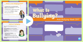 Anti-Bullying Week 2017 Second Level PowerPoint - bully, relationships, equality, friendship, difference, Prejudice,Scottish