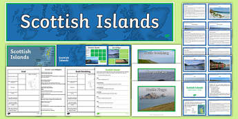 Scottish Islands Activity Pack
