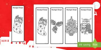 Świąteczne zakładki do książki Kolorowanka antystresowa - Święta, Jezus, Boże Narodzenie, Bożo Narodzeniowy, antystresowa, stres, anty-stresowa, kolorowan