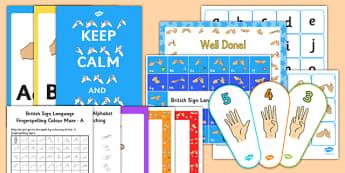 Deaf Awareness Week BSL Resource Pack