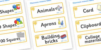 Orange Themed Editable Classroom Resource Labels - Themed Label template, Resource Label, Name Labels, Editable Labels, Drawer Labels, KS1 Labels, Foundation Labels, Foundation Stage Labels, Teaching Labels, Resource Labels, Tray Labels, Printable la