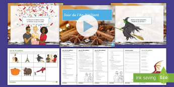 'Jour de l'An pétillant' Nursery Rhyme Differentiated Resource Pack French - reading, creative, writing, nouvelle, année,French