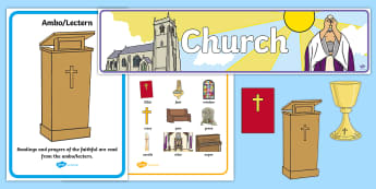 Church Role-Play Pack - roleplay, role play, church, baptism, Religion, religious, christian,