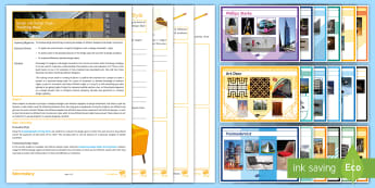 Designers and Design Styles Activity Pack - Designers, Design Styles, design schools, Colani, Memphis, Arts Deco, Charles Rennie MacKintosh, Fra