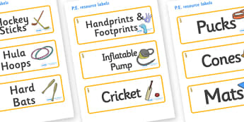 Seahorse Themed Editable PE Resource Labels - Themed PE label, PE equipment, PE, physical education, PE cupboard, PE, physical development, quoits, cones, bats, balls, Resource Label, Editable Labels, KS1 Labels, Foundation Labels, Foundation Stage L