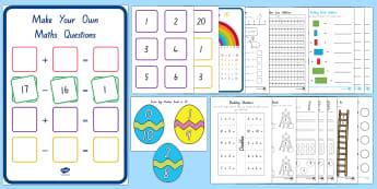 Parents Maths Resource Pack - New Zealand, maths, age 5, year 1, parents, carers, ECE,