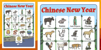Chinese New Year Story Vocabulary Poster - vocabulary, poster