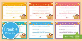 Foodbank Collection Certificate - Food Bank, foodbank, hunger, charity, volunteer, community, food parcels, crisis, certificate.