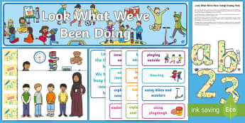 Look What We've Been Doing! Display Pack - EYFS, Start Of Year, Working Wall, Early Years Displays, Foundation Stage Displays, Start Of Term, O