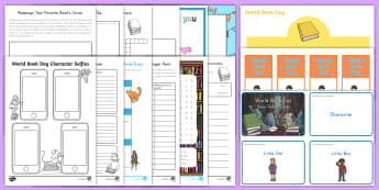 World Book Day K-2 Resource Pack - World Book Day, activity sheets, worksheets, reading, display,