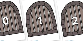 Numbers 0-100 on Jail Cells - 0-100, foundation stage numeracy, Number recognition, Number flashcards, counting, number frieze, Display numbers, number posters
