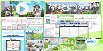 Geography: Exploring Eastern Europe Year 5 Unit Pack