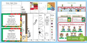 Kirihimete Activity Pack Te Reo Māori - New Zealand, Christmas, maori, colouring, activities, topic