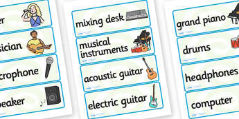 Music Production Studio Role Play Labels - music production studio, role play, labels, music production labels, role play label, music production role play