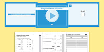 KS2 Reasoning Test Practice Recognise and Use up to Thousandths Resource Pack - Key Stage 2, Reasoning Test, Practice, Fractions, Decimals, Percentages, Year 6