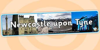 Newcastle upon Tyne Photo Display Banner - newcastle upon tyne, photo banner, photo display banner, display banner, display header, header, banner
