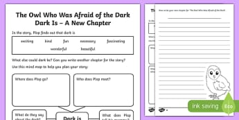 Dark Is... A New Chapter Differentiated Worksheet / Activity Sheet Pack-Scottish, worksheet