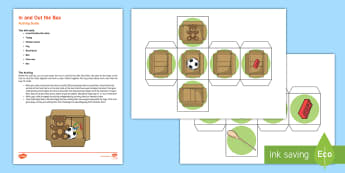 In and Out the Box Busy Bag Resource Pack for Parents - Early Concepts, In, Out, Filling And Emptying, baby, schema