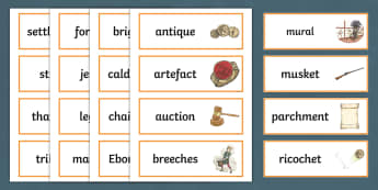 History Hackers: Roman Rescue Word Cards - display, vocabulary, reading, story, originals, romans, working wall, spelling
