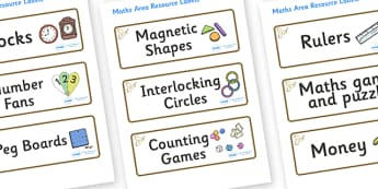 Kestrel Themed Editable Maths Area Resource Labels - Themed maths resource labels, maths area resources, Label template, Resource Label, Name Labels, Editable Labels, Drawer Labels, KS1 Labels, Foundation Labels, Foundation Stage Labels, Teaching Lab