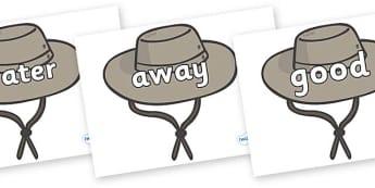 Next 200 Common Words on Cowboy Hats - Next 200 Common Words on  - DfES Letters and Sounds, Letters and Sounds, Letters and sounds words, Common words, 200 common words
