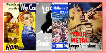 Word War Two Propaganda Posters - world war 2, world war two, ww2, world war 2 propaganda posters, propaganda posters, propaganda, propaganda display