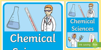 Chemical Sciences Book Cover - Australian Curriculum, title page, cover page, front cover, science journal, chemical science,Austra