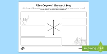 Alice Cogswell Research Map - deaf education, deaf history, deaf culture, deaf identity, deaf role models, deaf famous people, dea