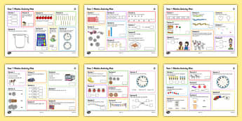 Year 1 Summer 2 Maths Activity Mats