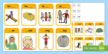 Phase 4 Consonant Clusters scr, shr, spr, str, nch, thr Peg Matching Game - Letters And Sounds, Blend, Decode, Phonics,