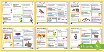Year 5 Spring Term 1 SPaG Activity Mats - SPaG Activity Mats KS2, SPaG, GPS, grammar, punctuation, spelling, carousel, morning, independent, g