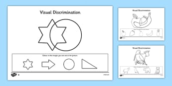 Visual Discrimination Worksheet / Activity Sheet Pack Find the Overlapping Pictures - visual perception, visual, discrimination, overlapping, pictures, activity, worksheet