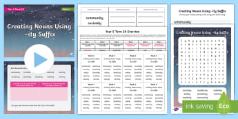 Year 5 Term 2A Week 1 Spelling Pack - Spelling Lists, Word Lists, Spring Term, List Pack, SPaG