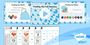 PlanIt Maths Y2 Fractions Lesson Pack Equivalence (2)