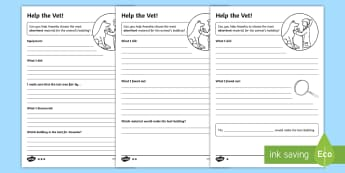 KS1 Absorbency Worksheet / Activity Sheets - science, absorbency, absorbent, materials, scientific enquiry, investigation, experiment, recording,