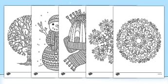 primary resources christmas coloring pages - photo#23