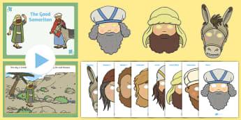 The Good Samaritan Teaching Pack - teaching, pack, samaritan