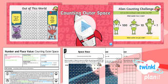 PlanIt Maths Y1 Number and Place Value Lesson Pack Count up to, Back from and Across 100 (3)