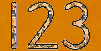 Thanksgiving Display Numbers USA - Thanksgiving, display, numbers