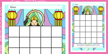 Diwali Sticker Reward Chart - diwali, sticker, reward chart, diwali sticker, reward sticker, diwali chart, reward, award, behaviour management, sticker chart