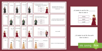 An Inspector Calls Quotation Quiz Flashcards - An Inspector Calls, Quotes, quotations, GCSE English revision, AQA, KS4 quotes